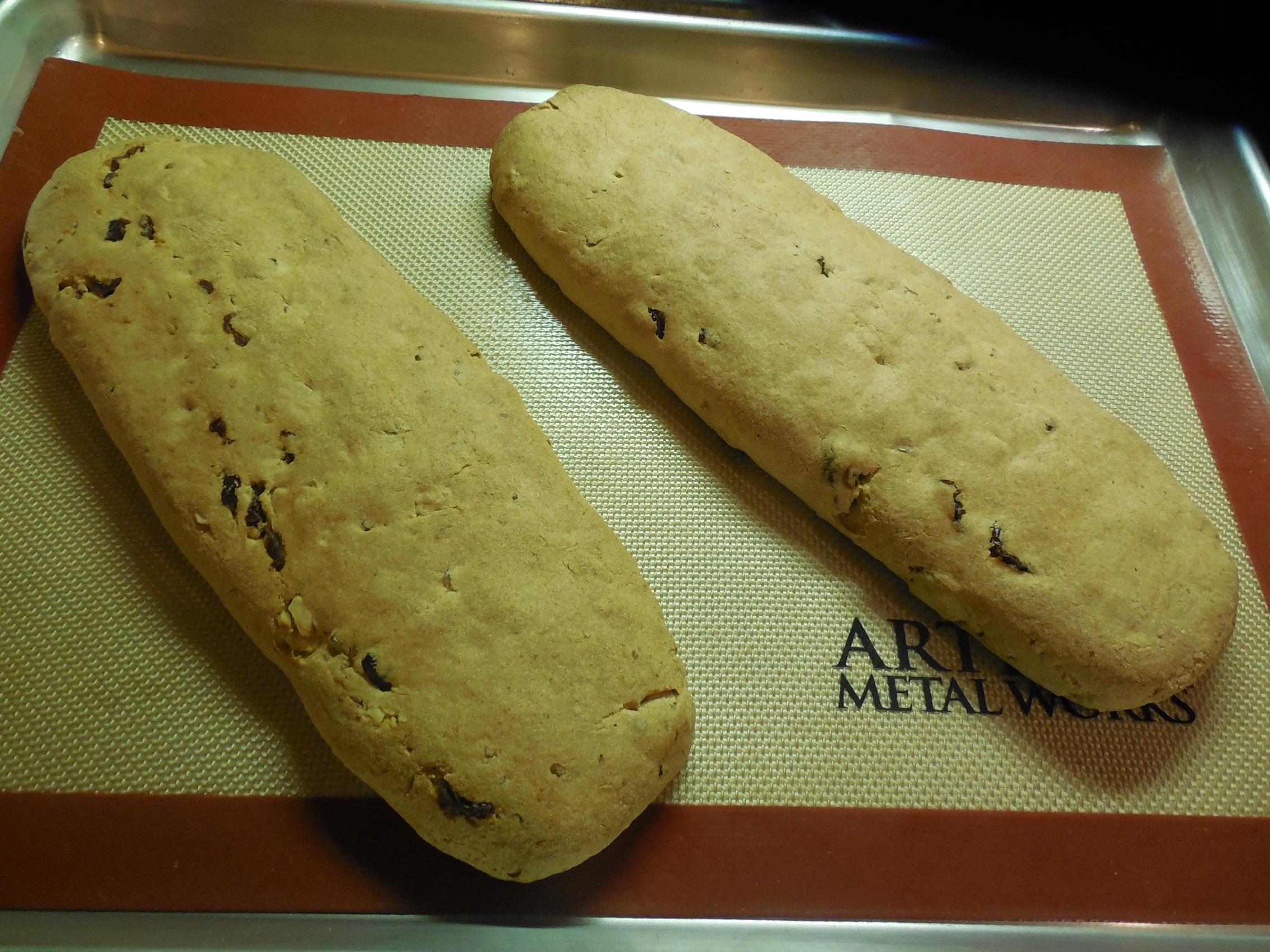 Vegan Orange Biscotti Dough