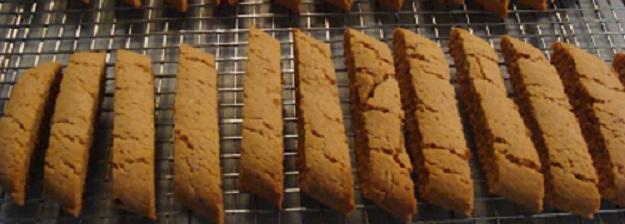 Peanut Butter Biscotti